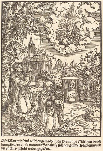Master of the Miracles of Mariazell, 'Ein Man mit seine eelicheu gemachel ...', ca. 1503