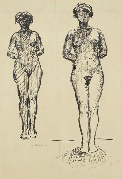 Henri Lebasque, 'Étude de nue'