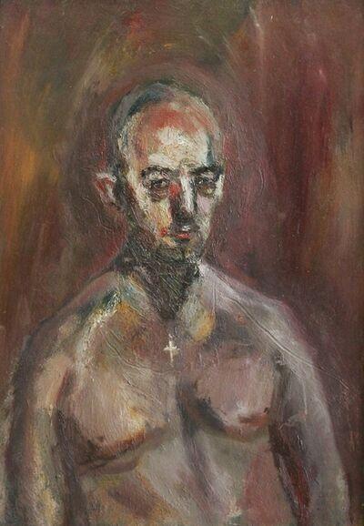 Richard Fitton, 'Adam seated ', 2021