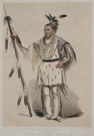 George Catlin, 'JOC - O - SOT (The Walking Bear)', c. 1844