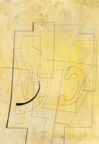 Ben Nicholson, 'Nov 23-51 (Still Life on a Yellow Ground)', 1951
