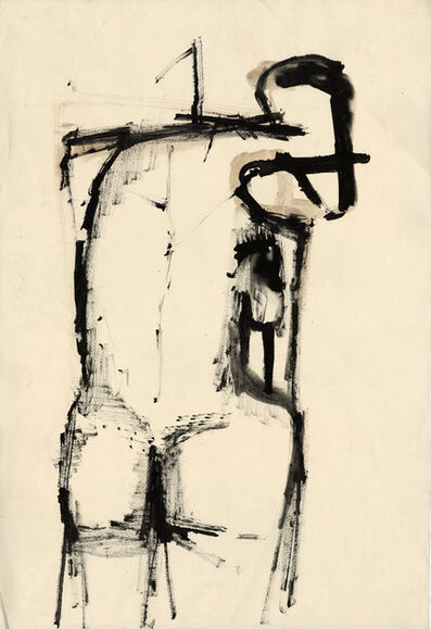 Henry Cliffe, 'Standing Nude', ca. 1960