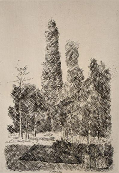 Giorgio Morandi, 'The Poplars | I Pioppi', 1930