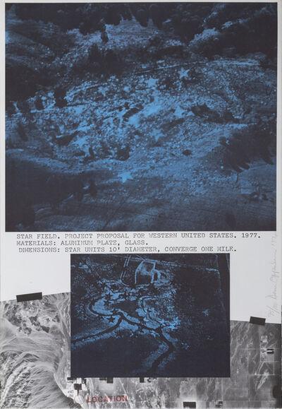 Dennis Oppenheim, 'Star Field, Western United States', 1979