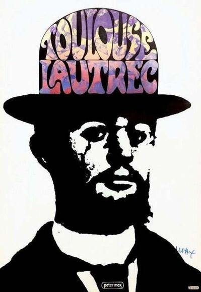 Peter Max, 'Toulouse Lautrec', 1966