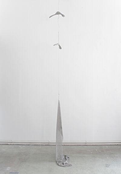 Anneliese Schrenk, 'Ohne Titel (Schlachthausfreundmetallgeflecht 10mm)'