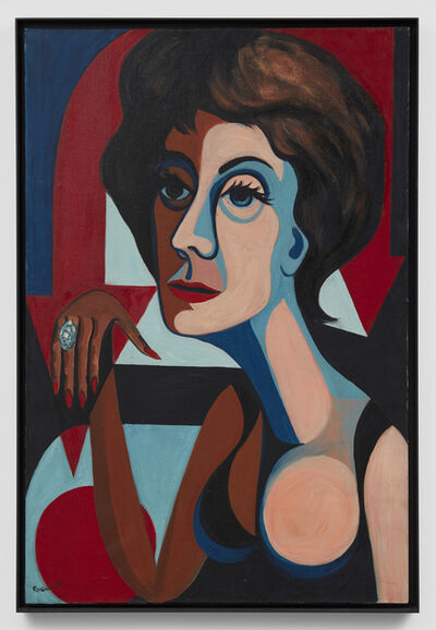 Faith Ringgold, 'American People Series #9: The American Dream', 1964