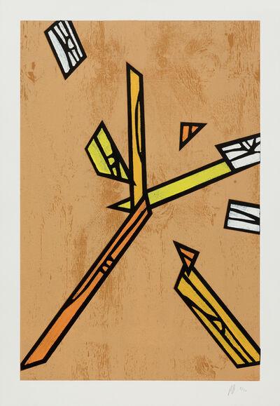 Richard Woods, 'Woodblock Inlay 4', 2011