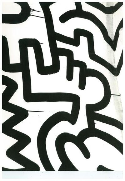 Andy Warhol, 'Keith Haring Painting Detail (Pop Shop)', ca. 1983