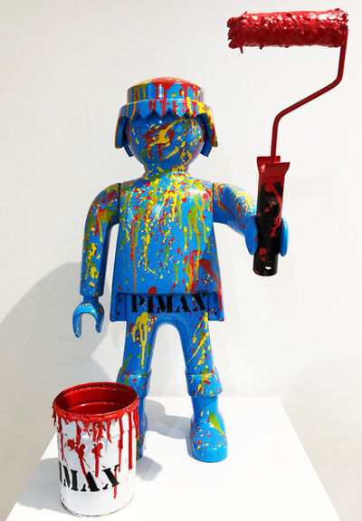 Pimax, 'Playmobil splash (series L'armée des 12 singes)', 2017