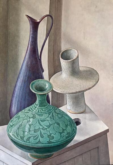 Michael Taylor (b. 1952), 'Three Pots', 2020