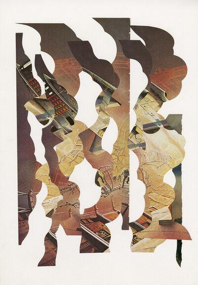 Hisham Akira Bharoocha, '2 Pages #2', 2018