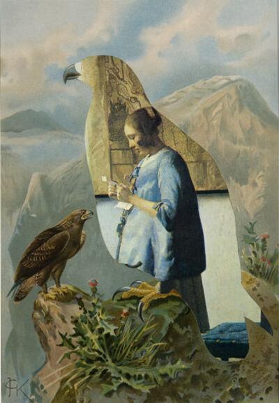 Jirí Kolár, 'Birds (Vermeer)', 1970