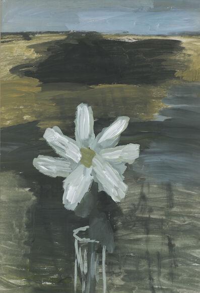 Vladimir Yakovlev, 'White flower in glass', 1969