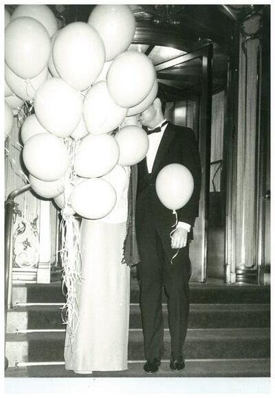Andy Warhol, 'Couple with Balloons at The Plaza Hotel, New York City', ca. 1979