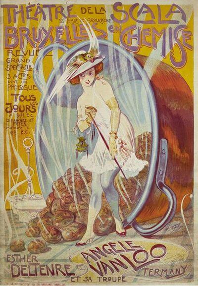 Medard Tytgat, 'Theatre de la Scala', 1916