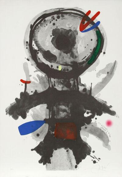 Joan Miró, 'L'Ange Crible', 1973