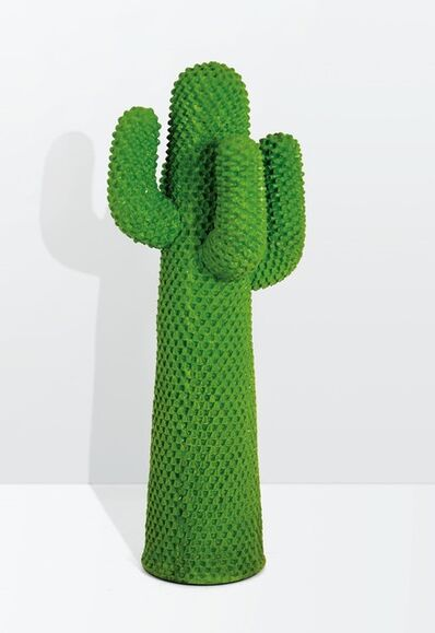 Franco Mello, 'a Cactus coat hanger in injection-printed foam rubber', 1986