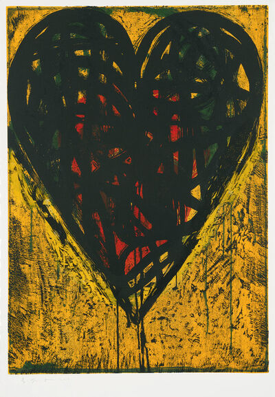 Jim Dine, 'It's Summer 12 AM', 2018