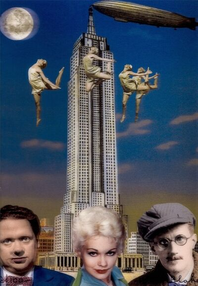 Peter Blake, 'New York (Dylan Thomas, Kim Novak and James Joyce)', 2013
