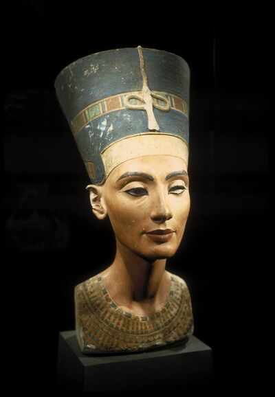 Attributed to Thutmose, 'Queen Nefertiti', ca. 1350 B.C. (Dynasty XVIII)
