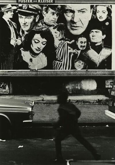 Louis Draper, 'Boy and Movie Poster, Harlem, New York City', 1968