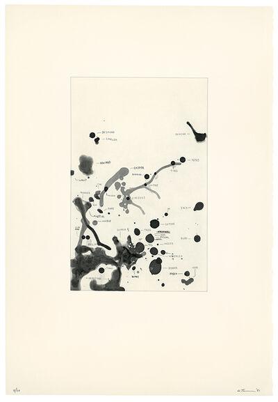 Al Taylor, 'Pet Stains (Desmond, Imelda, etc.)', 1991