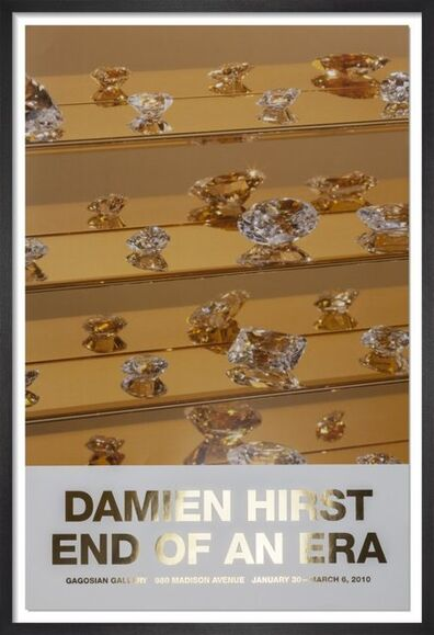 Damien Hirst, 'End Of An Era Signed Poster', 2008