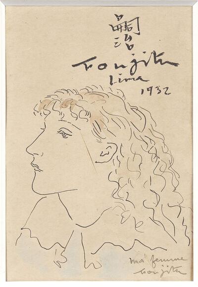 Léonard Tsugouharu Foujita 藤田 嗣治, 'Portrait of Madeleine 'Mady' Dormans', 1932