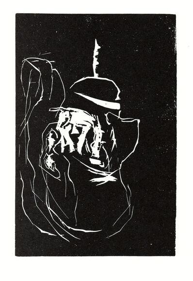 Georg Baselitz, 'Richard Wagner als Frau (Richard Wagner as a Woman)', 1986-87