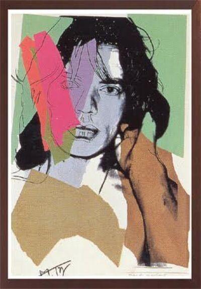 Andy Warhol, 'JAGGER FS II.140', 1975
