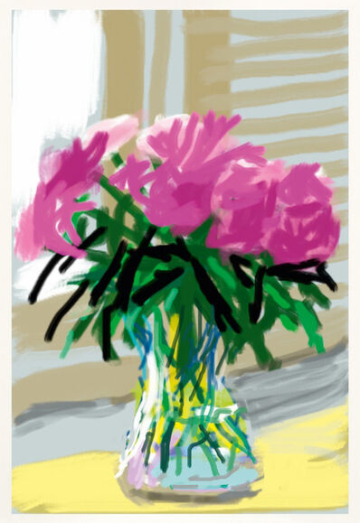 David Hockney, 'iPhone drawing 'No. 535', 28th June 2009 - 2019', 2020