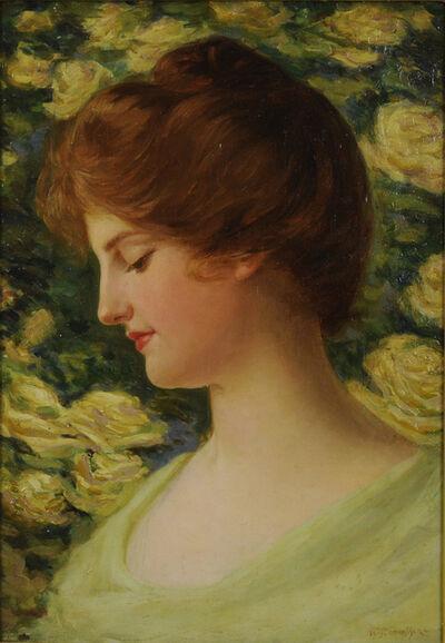 William Edmondson, 'Portrait of a Young Girl', ca. 1895