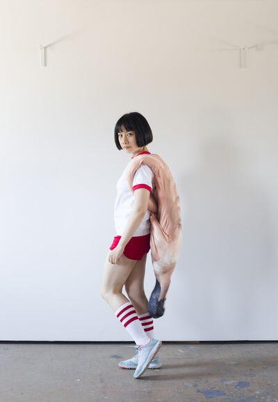 Pixy Yijun Liao, 'Men as Bags', 2016