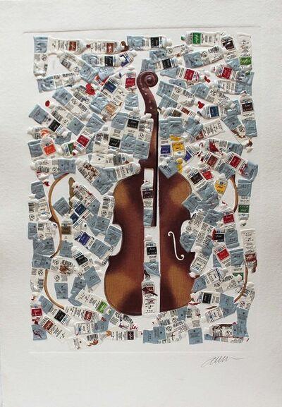 Arman, 'Tubes et violin', unknown