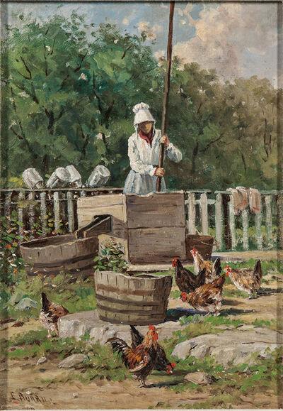 Edward Burrill, 'Pumping Water'