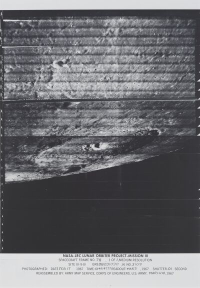 NASA, 'Spacecraft Frame No. 78', 1967