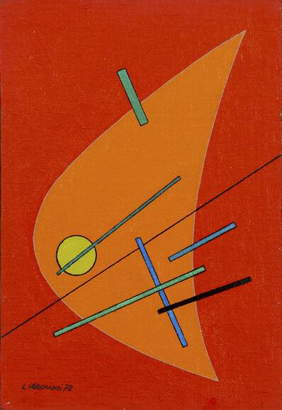 Luigi Veronesi, 'Variabile 15', 1972