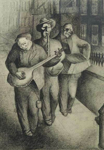Seymour Fogel, 'Three Street Musicians', 1933