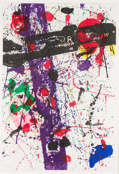 Sam Francis, 'Untitled, from Eight by Eight to Celebrate the Temporary Contemporary Museum, Los Angeles', ca. 1984