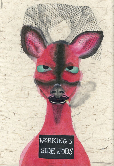 Fung Kuen Suet, Michelle, 'Artist Mugshot Deer', 2018