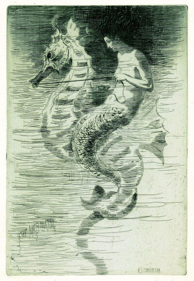 Frederick Stuart Church, 'The Mermaid', 1880