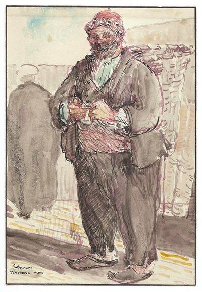 Jean-Emile Laboureur, 'Le portefaix à Stamboul / The Porter, Istanbul', 1909