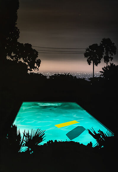 Laurence Jones, 'Pool with Yellow Float', 2019