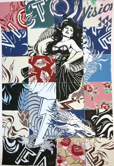 FAILE, 'Vision of Victory', 2017