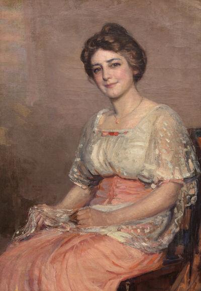 Joseph Kleitsch, 'Woman in Pink', 1915-1920