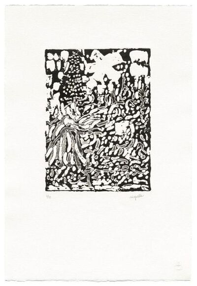 Jean-Paul Riopelle, 'Un Promeneur (1)', 1988-1990