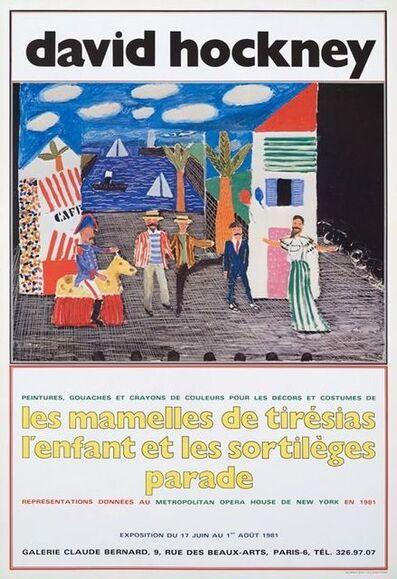 David Hockney, 'Les Mamelles de Tiresias', 1981