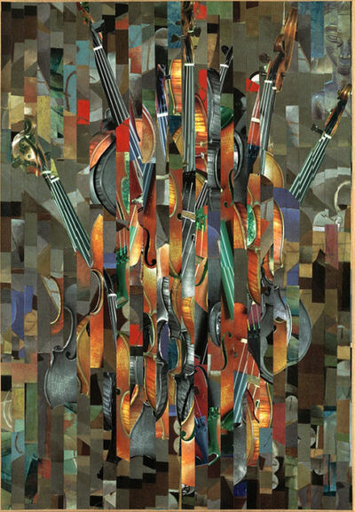 Serge Mendjisky, 'Concerto pour un Nu Caché'