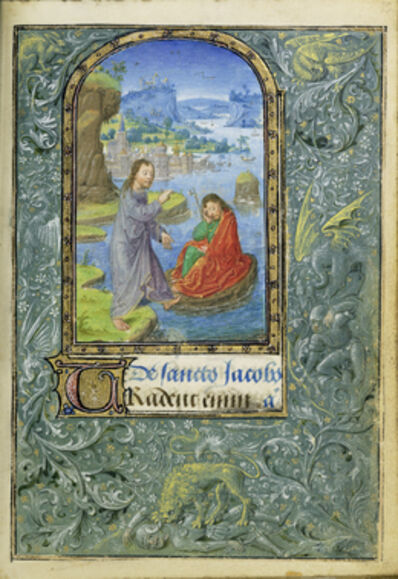 Lievan van Lathem, 'Christ Appearing to Saint James the Greater', 1469